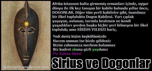 Dogonlar ve Sirius Yıldızı